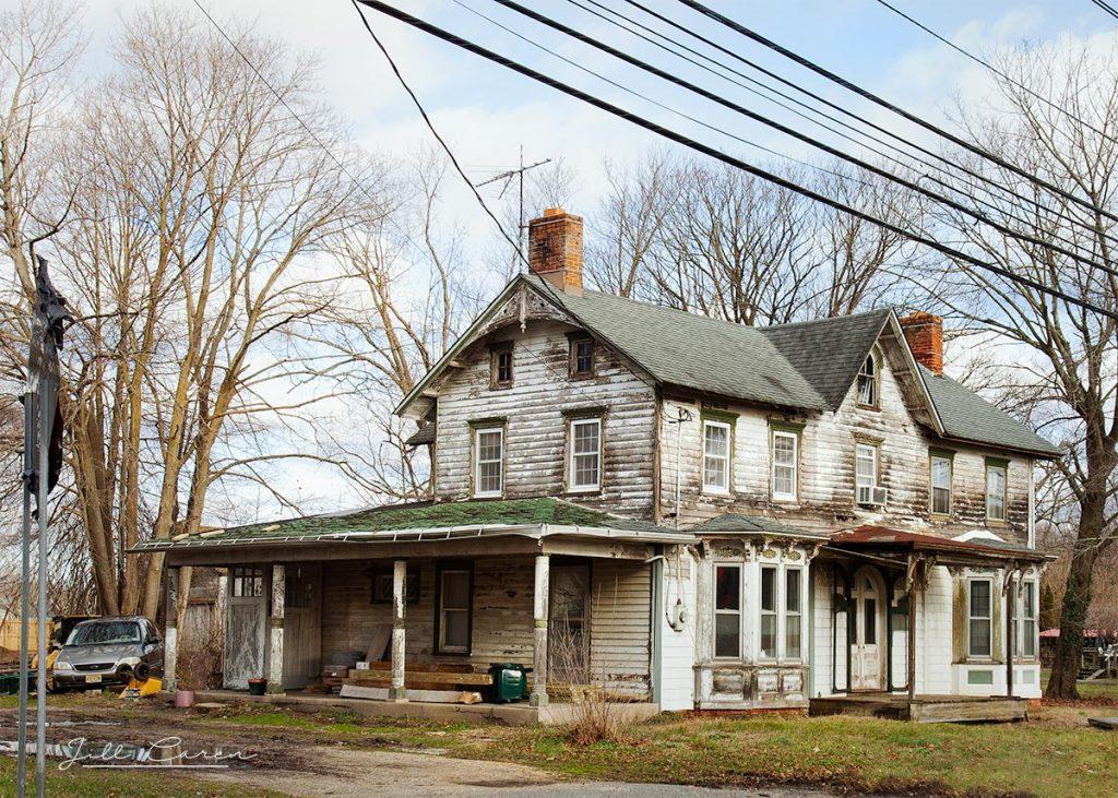 Abandoned house in howell, nj