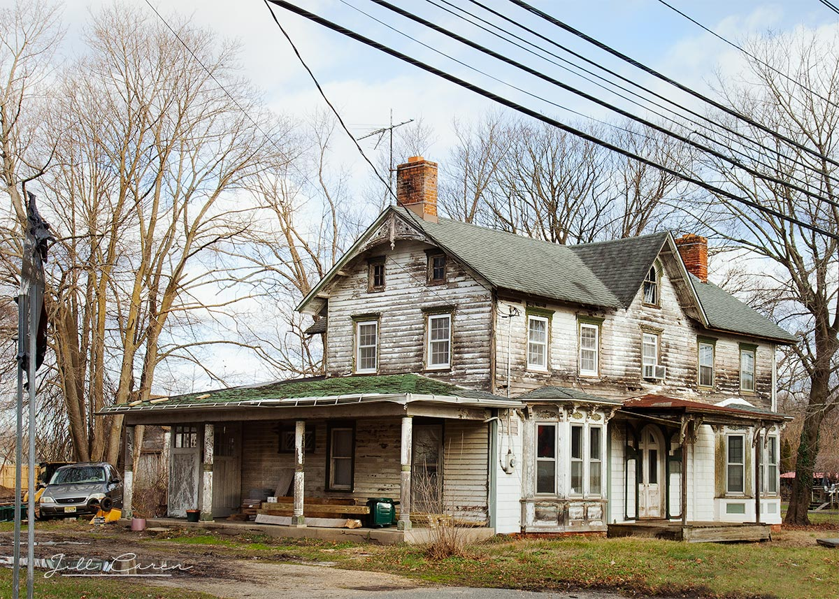 Abandoned house in howell, nj
